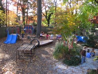 The outdoor space is implicit and consistently draws children in and out. The design is one of destinations, quiet or quick.