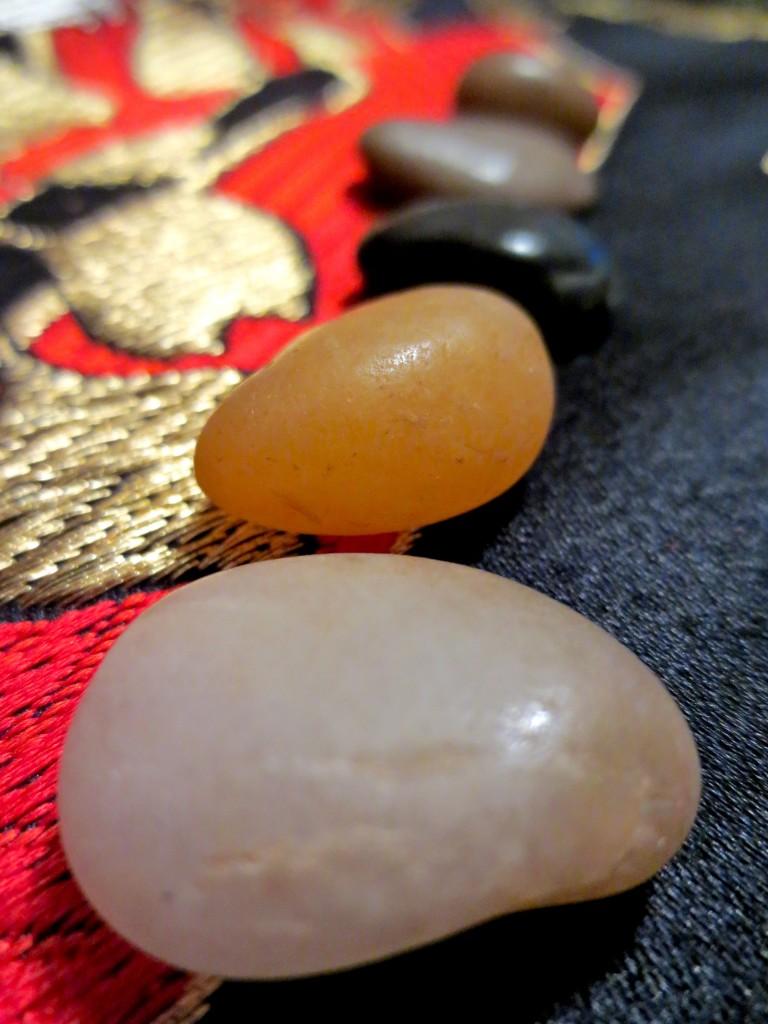 Sharing stones