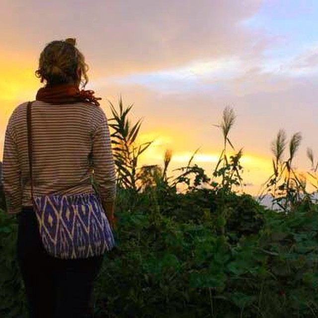 Our limited edition Sling Bag is perfect for sunset gazing, nature walking, park chilling, or just about any other day out with friends. Throw in your essentials and go exploring. #estwst #consumeconsciously #connectglobally #ethicalfashion #handmade