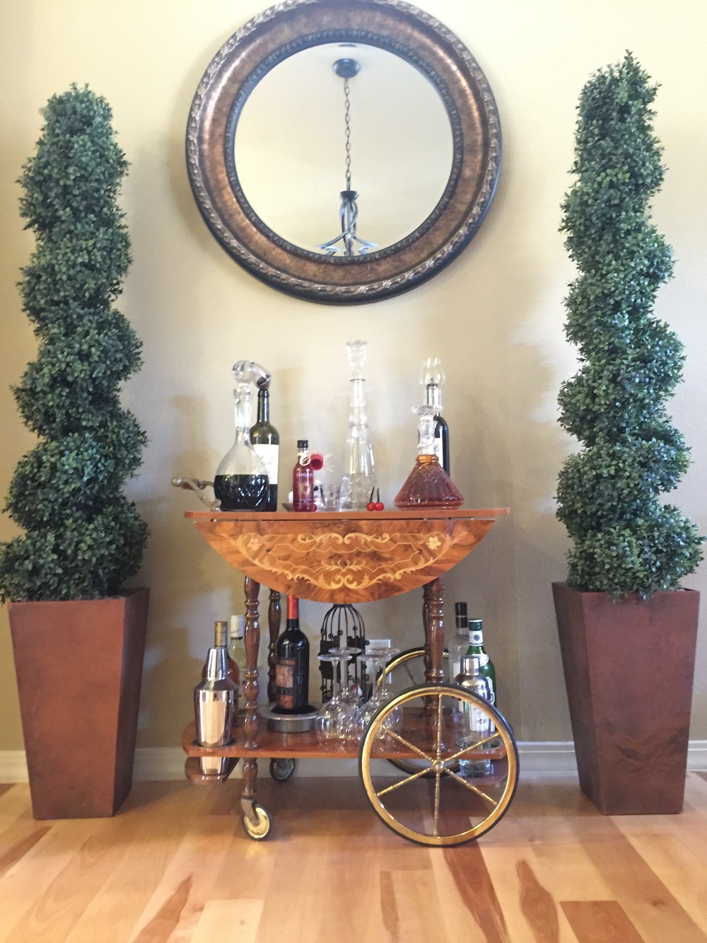 Antique Italian Bar Cart