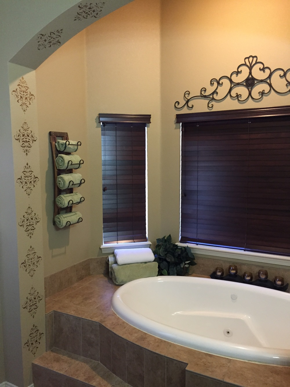A Tuscan Escape Master Bath