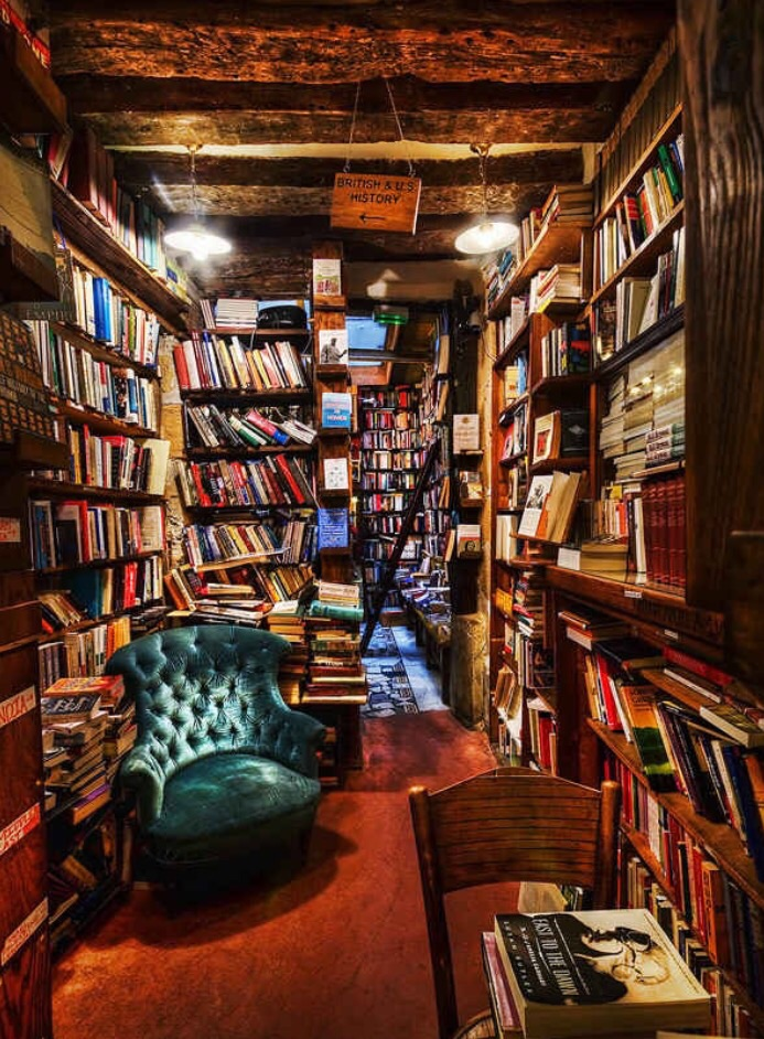 The feel of your home is up to you! If you're idea of a dream space is a cozy reading spot in a warm library full to brim of books, you got it!