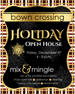 Holiday Open House Ad