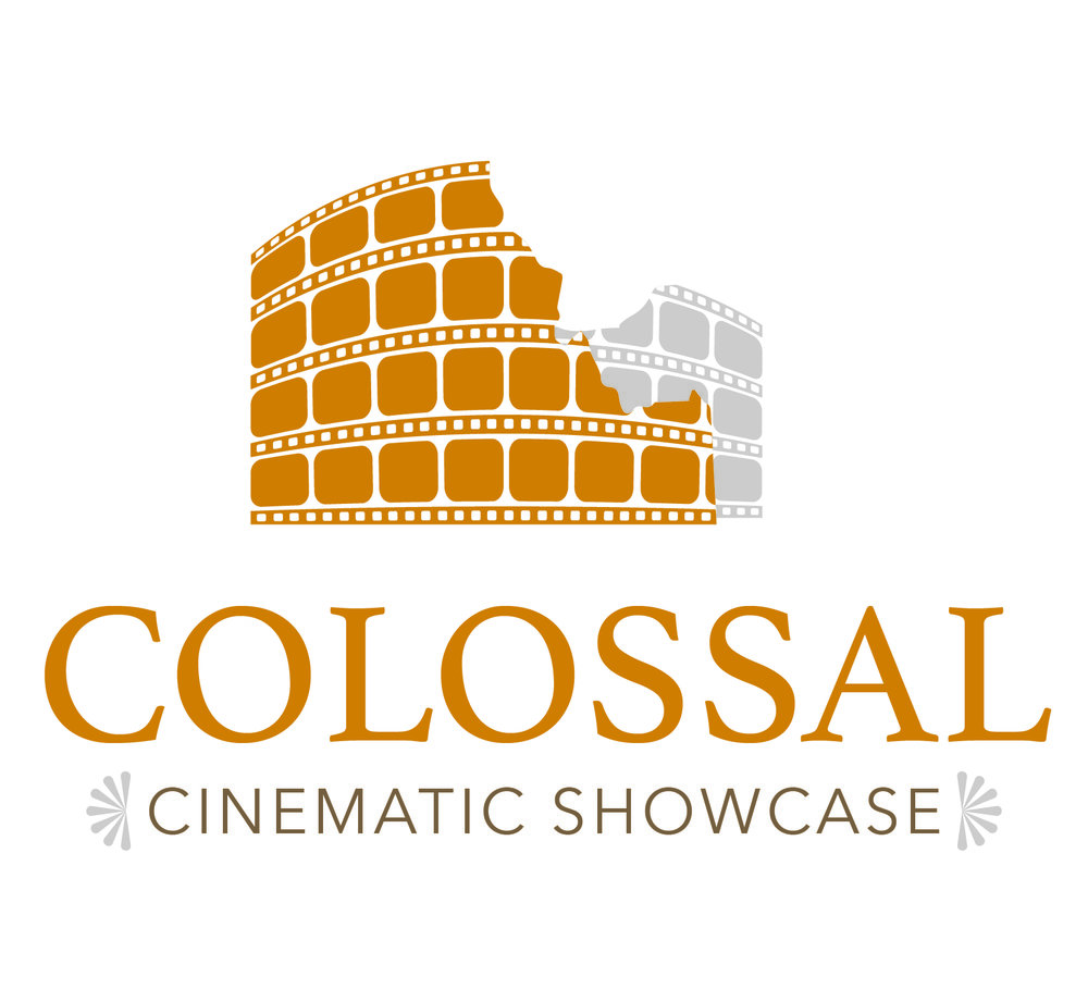 Logo Design for Colossal Cinematic Showcase  http://www.colossalcinematicshowcase.clamcity.com/