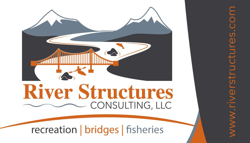 New logo and business card design for River Structures Consulting, LLC (2015)