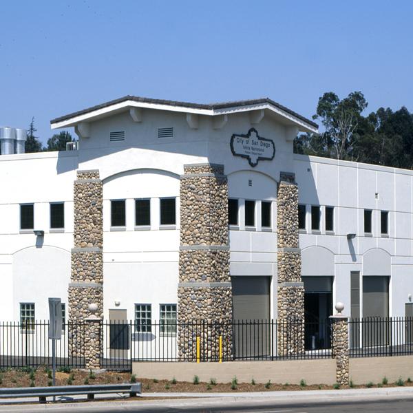 San Diego Central Police Facility