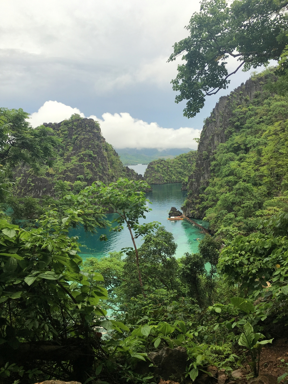 Breathtaking views from Kayangan Lake