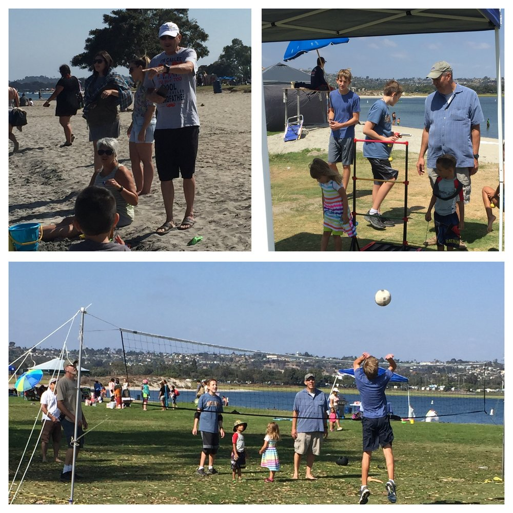 A little volleyball :)