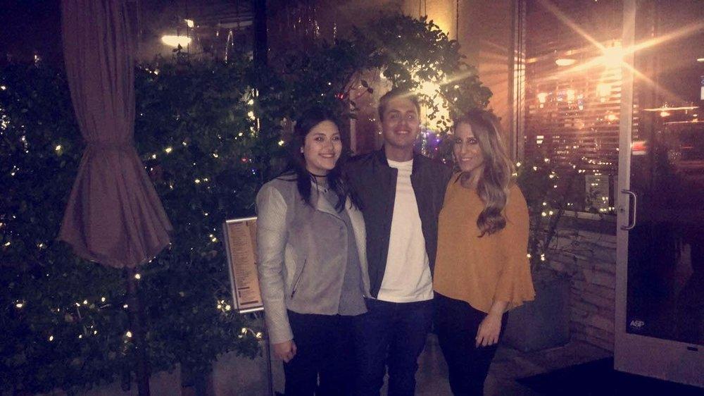 Paola, Fabian, & Diane