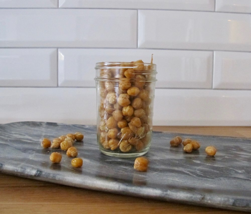 salt n vinegar chickpeas