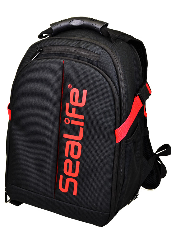 FREE SeaLife Pro Backpack - w/ Purchase of SeaLife DC2000 Pro Duo Underwater Camera. $119.00 Value
