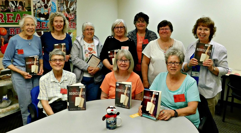 Badger Book Club reads The Bookseller 5-2017.jpg