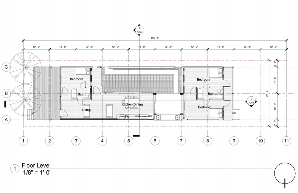 New Orleans House Plans Courtyard Escortsea