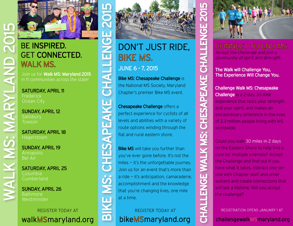 2015 events flyer