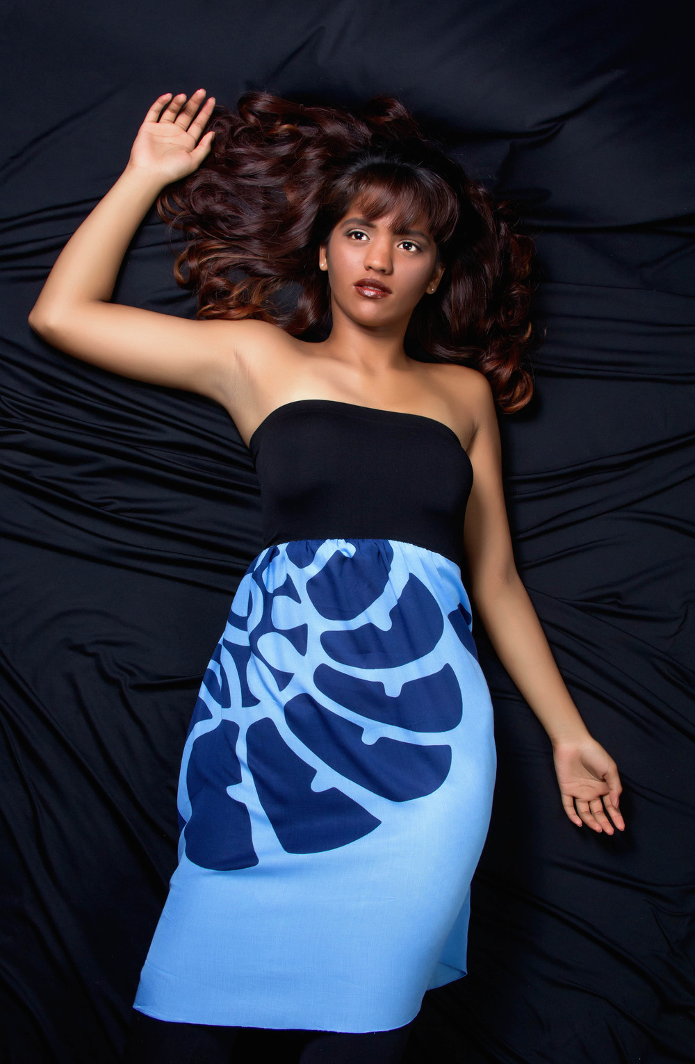 KZHAWAII-Blue Strapless Top.jpg