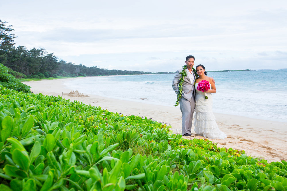 Oahu Hawaii Destination Wedding Photography