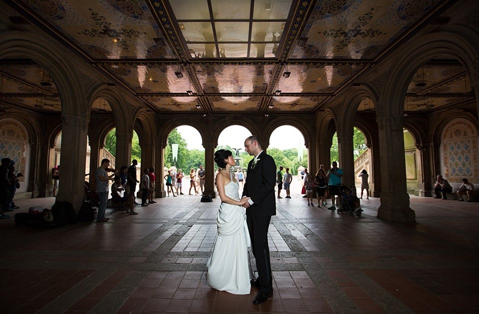 Central Park Boathouse NYC Wedding Photography