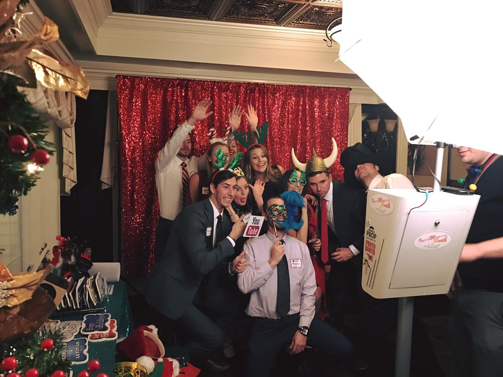 Holiday Corporate Photobooth by InstaMemory Booth in