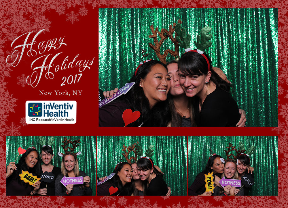 5x7 Holiday NYC Photobooth Strip