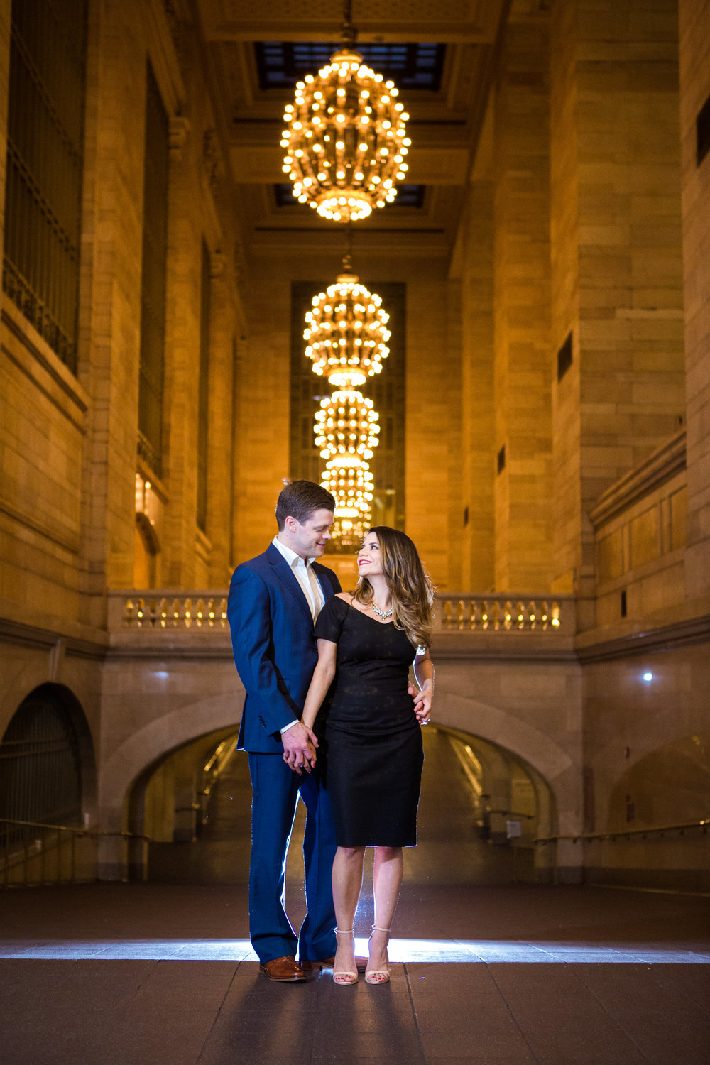 Grand Central Terminal Engagement Photos in NYC