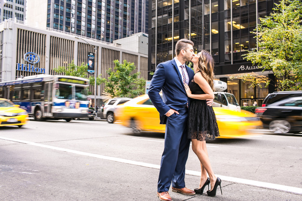 Fifth Avenue NYC Engagement Photography