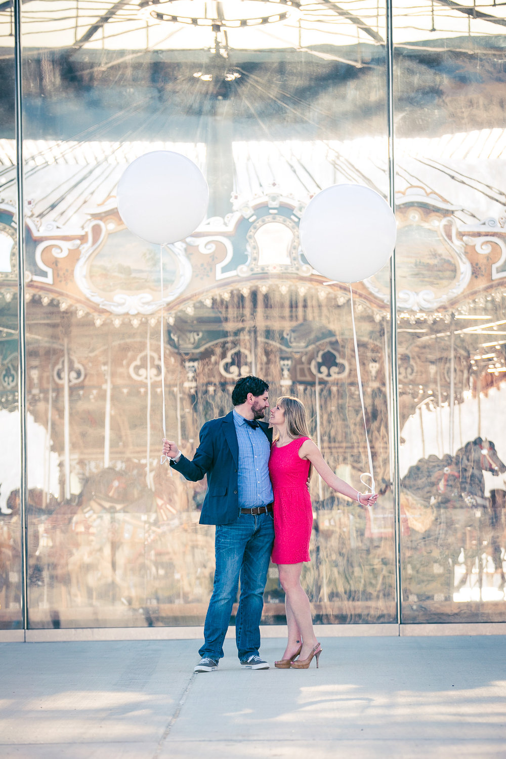 Brooklyn Engagement Photos by Jane's Carousel