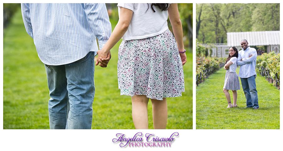 Guadalupe Roy Engagement Brooklyn Botanical Garden Cherry Blossoms Engagement Ideas Tulips 003