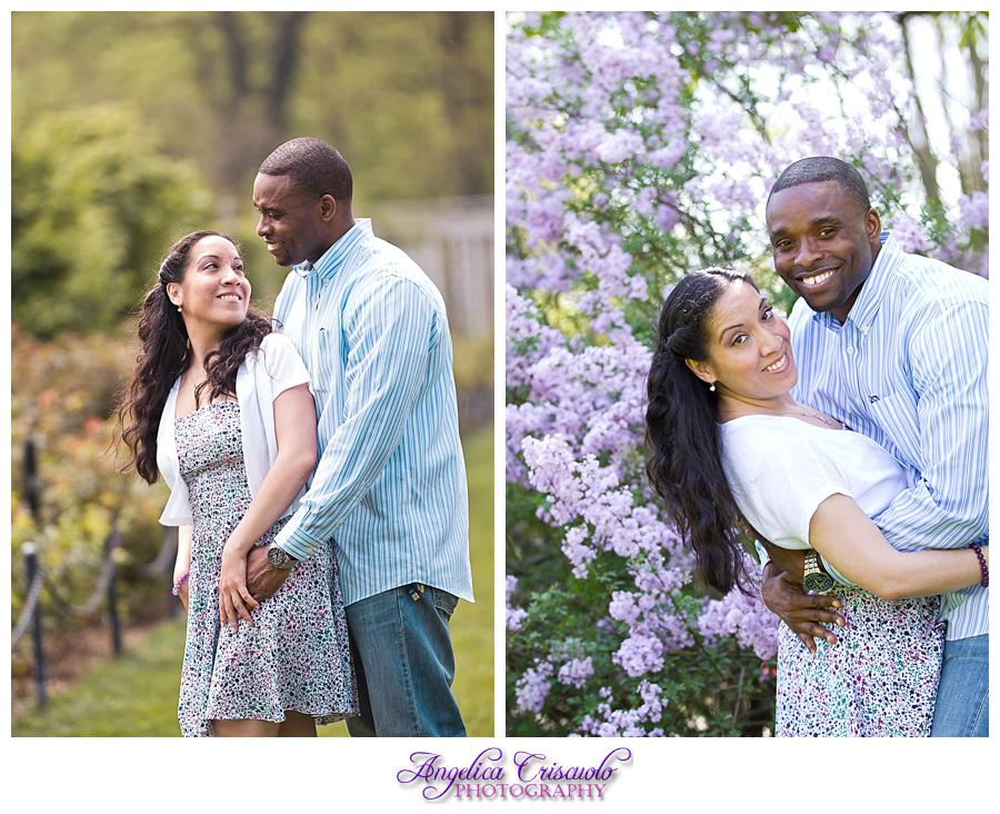 Guadalupe Roy Engagement Brooklyn Botanical Garden Cherry Blossoms Tulips Engagement Ideas 002