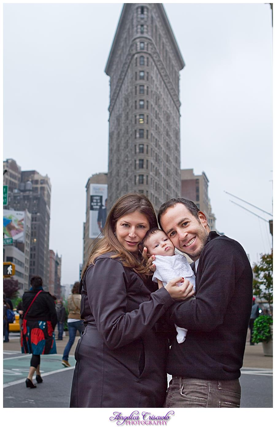 New York CIty Family Photo session Flatiron Building by Angelica Criscuolo Photography 001