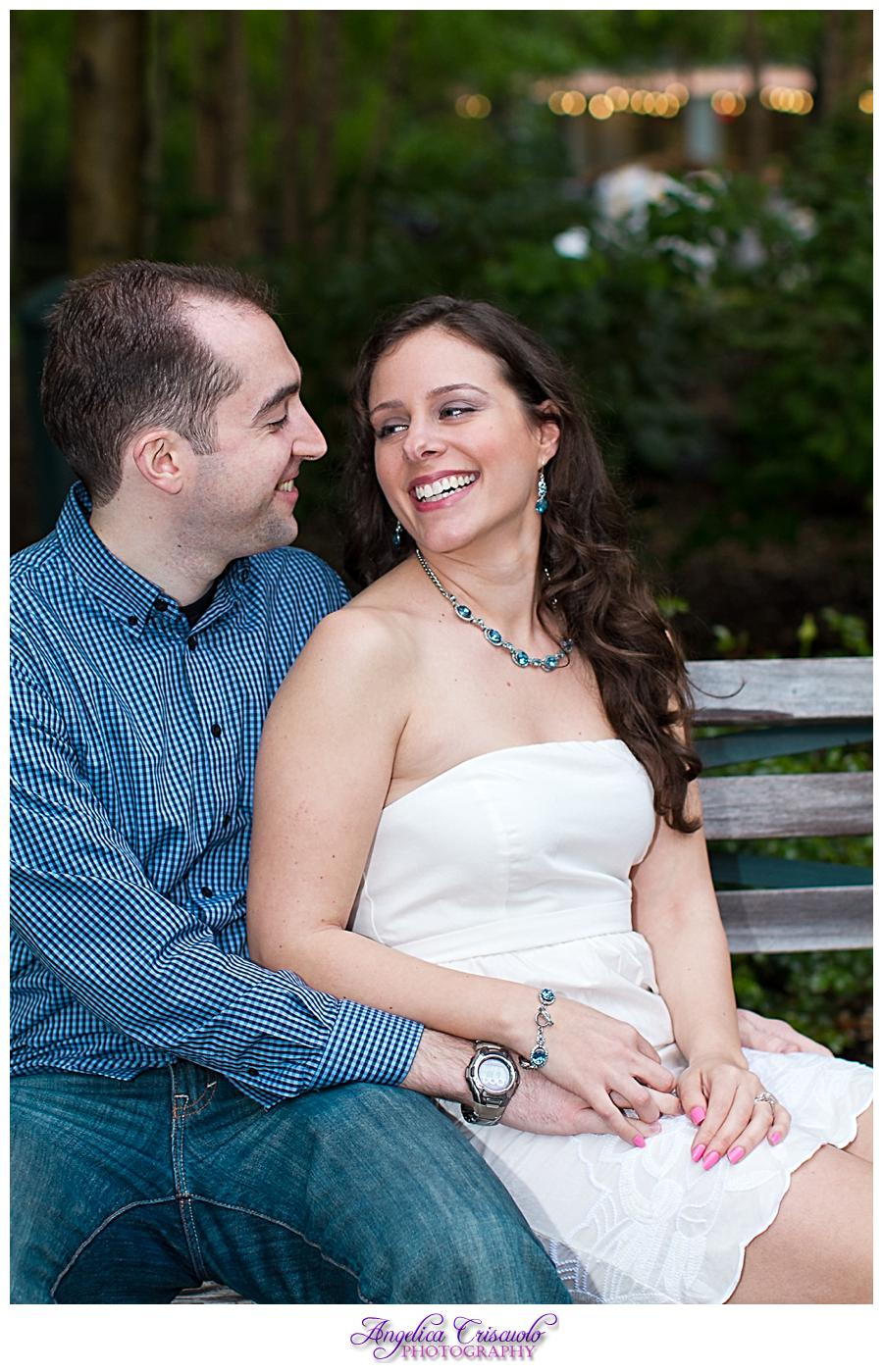 New York City Stuyvesant Town Engagement Session Ideas