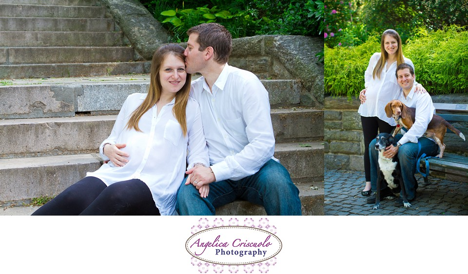 New York Maternity Session Ideas by Angelica Criscuolo Photography In Carl Shultz Park