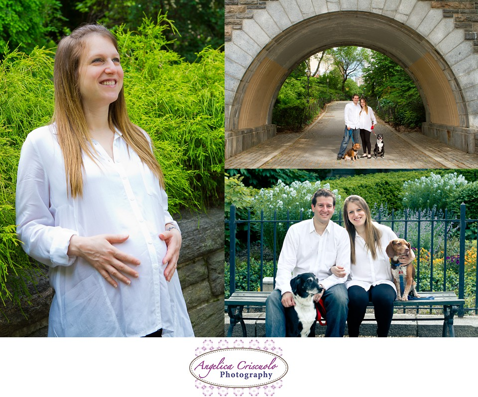 New York Maternity Session photo Ideas by Angelica Criscuolo In Carl Shultz Park