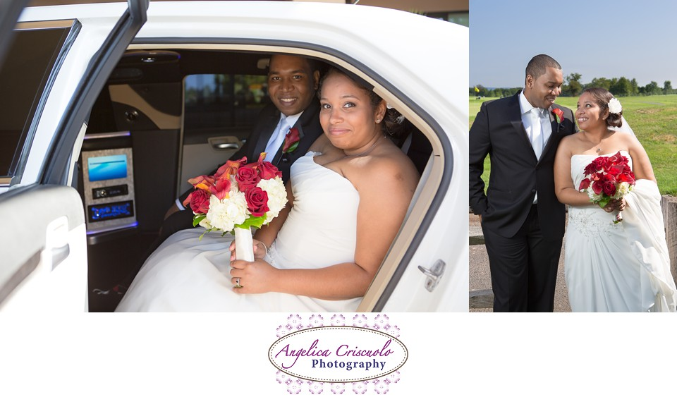 New Jersey Wedding Photographer - Royce Brook Country Club Limo