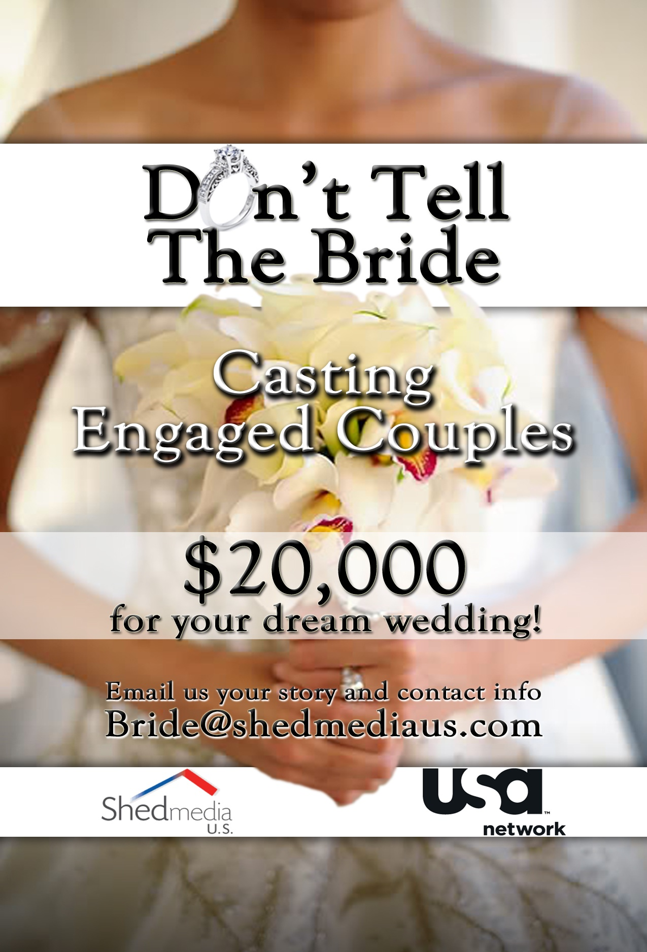 Don't Tell The Bride Casting NYC Wedding Engaged Couples