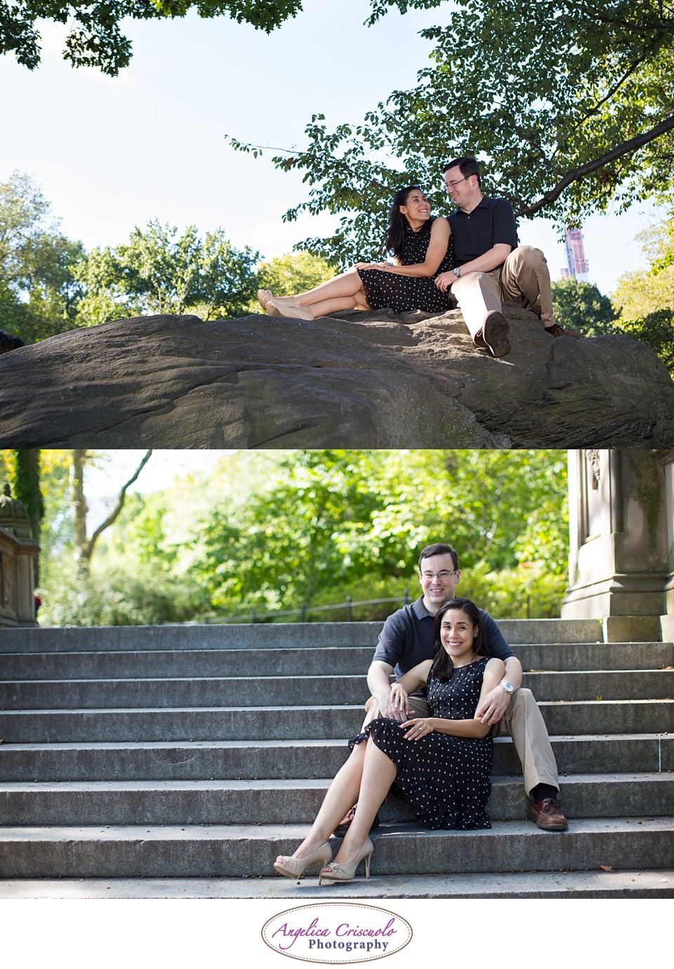 NYC Engagement Photography Central Park Jennifer & Brandon 001