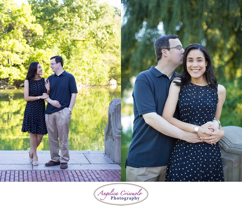 NYC Engagement Photography Central Park Bethesda Fountain Jennifer & Brandon 004