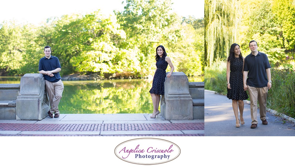 NYC Engagement Photography Central Park Bethesda Fountain Jennifer & Brandon 006