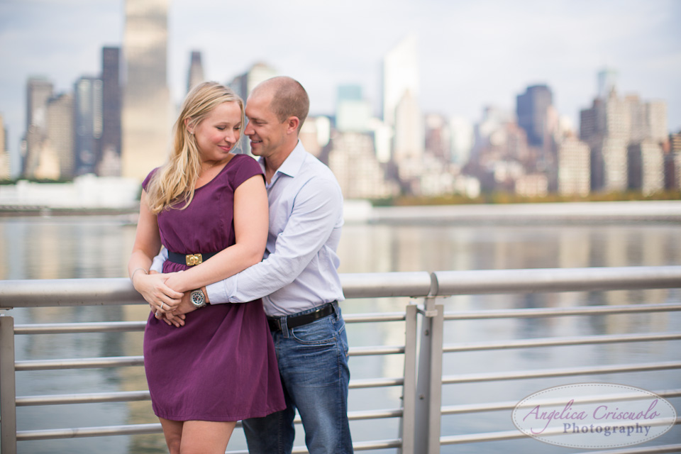 NYC Engagement Photography in LIC NY Wedding Photographer Gantry State Park Queens NY Boardwalk Pier 2012-09-22JenniferJoshEngagementWEB-107
