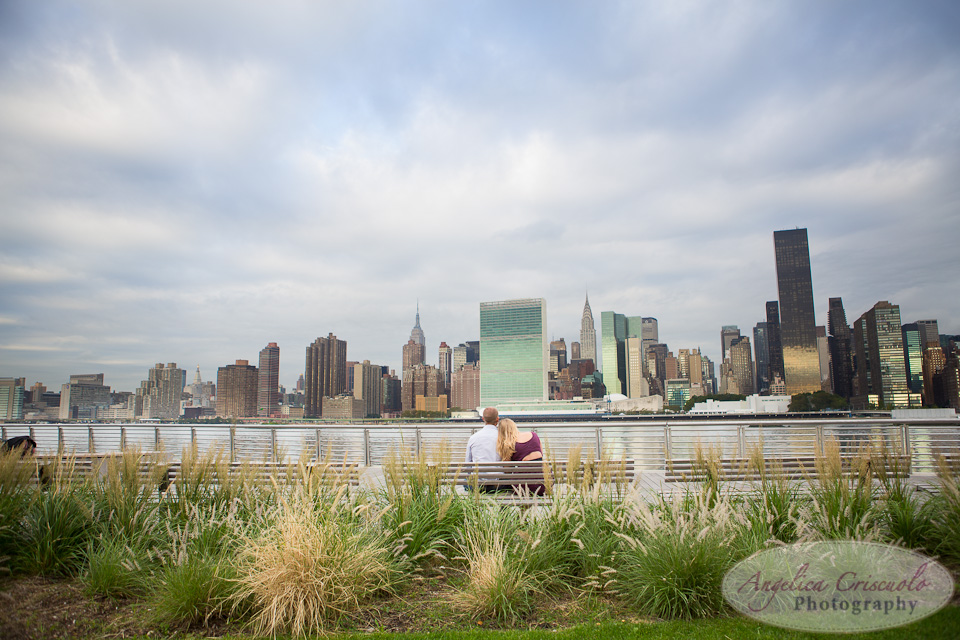 NYC Engagement Photography in LIC NY Wedding Photographer Gantry State Park Queens NY River view. Arizona Wedding, Brooklyn Bride, Texas Groom, 2012-09-22JenniferJoshEngagementWEB-168