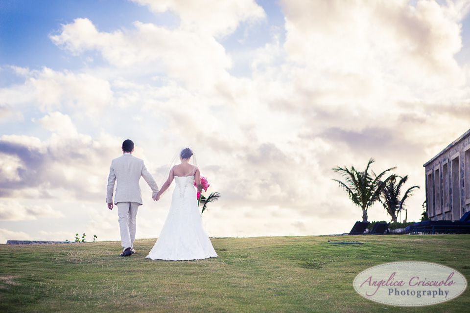 Destination Wedding in Barbados Caribbean by NYC Wedding Photographer Angelica Criscuolo