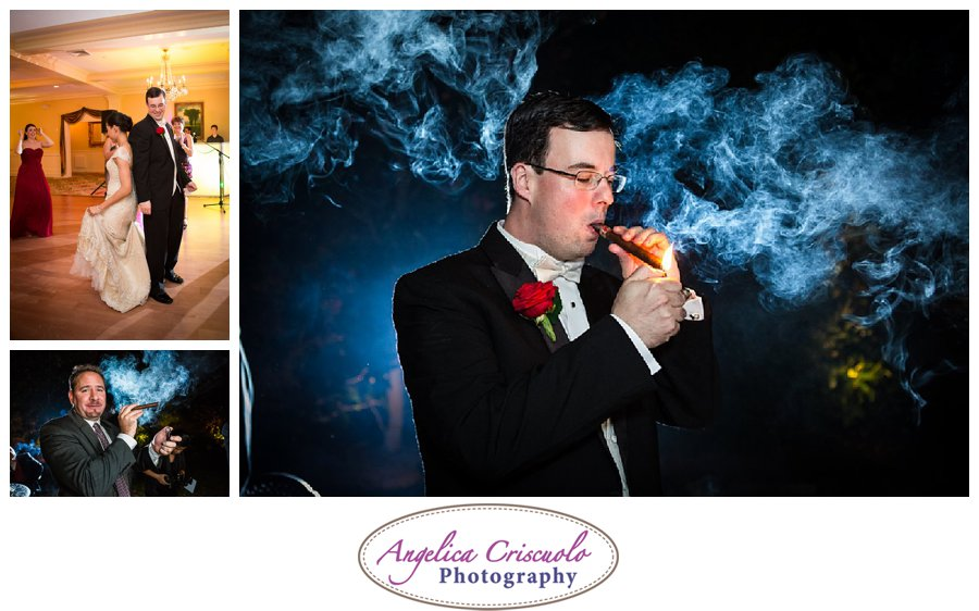 NJ Wedding Photography Cigar reception shot JenniferBrandonWedding-1276_showit_showit