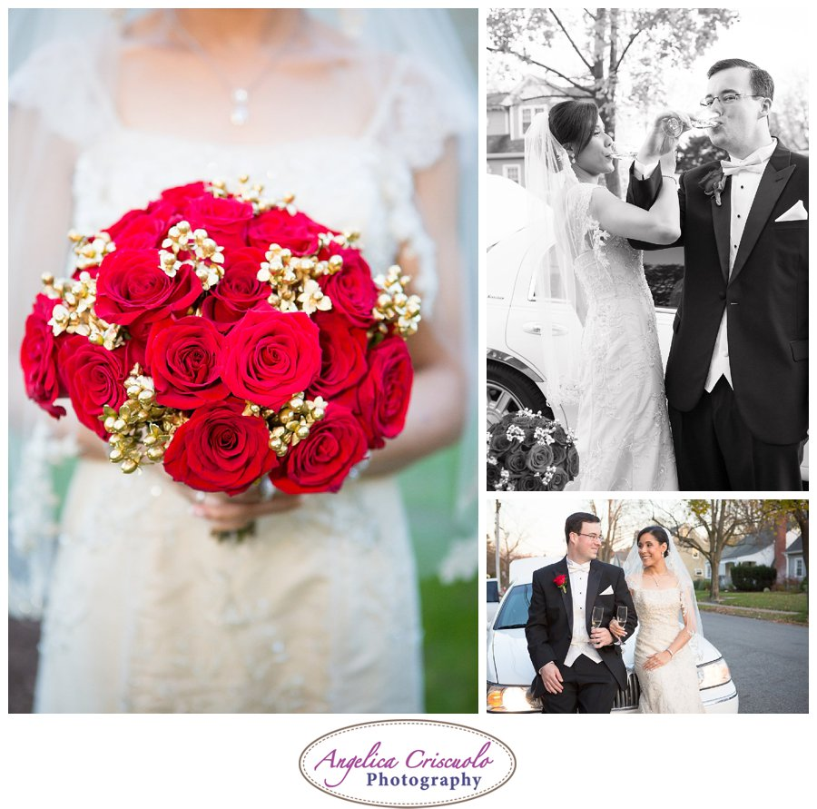 NJ Wedding Photographers bouquet ideas red and gold JenniferBrandonWedding-678_showit_showit