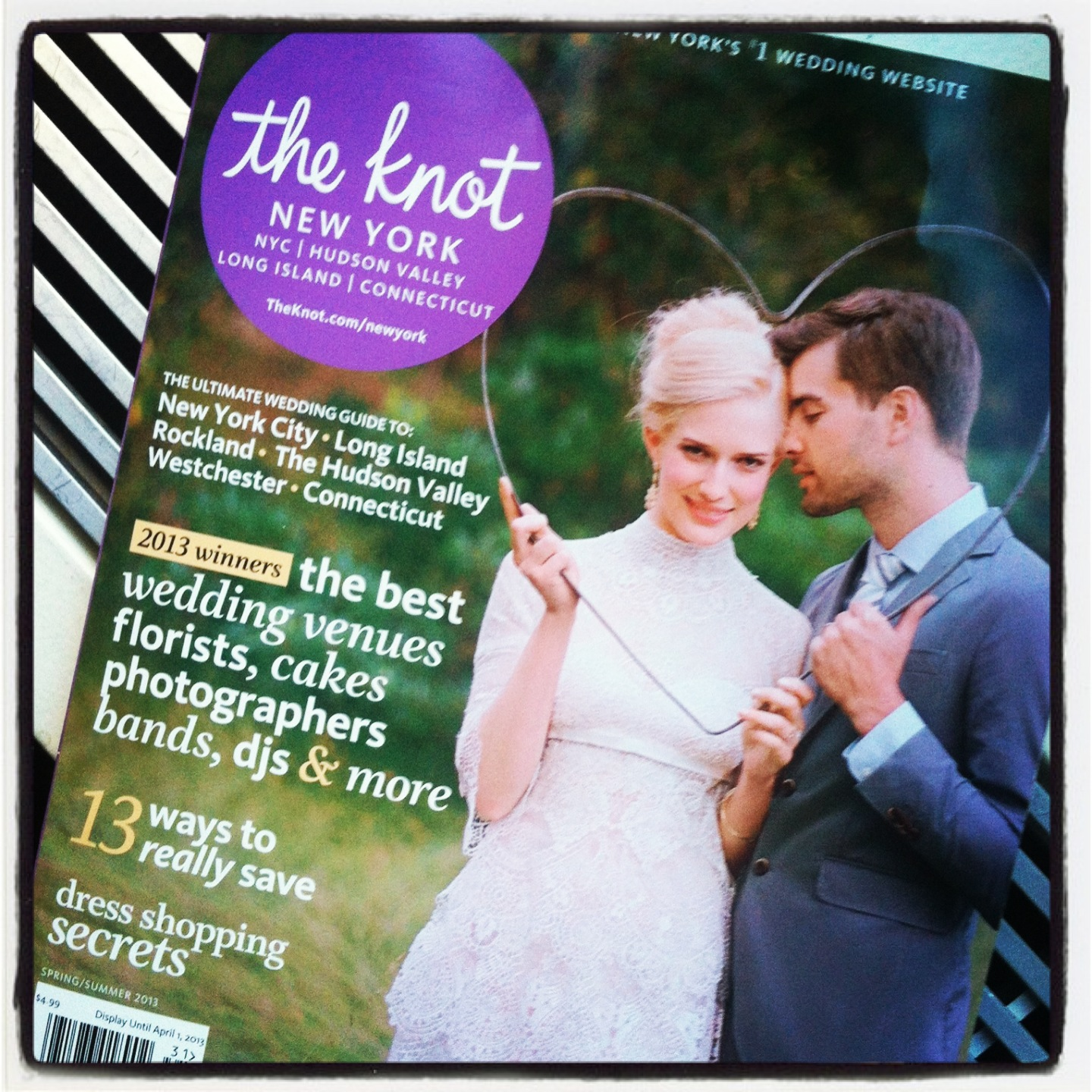 Spring/Summer2013 Edition The Knot Magazine Best of Weddings Photographer