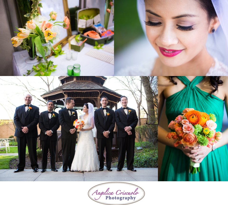 NYC Wedding Photography in Queens NY Jamaica Estates Bouquet ideas photos green