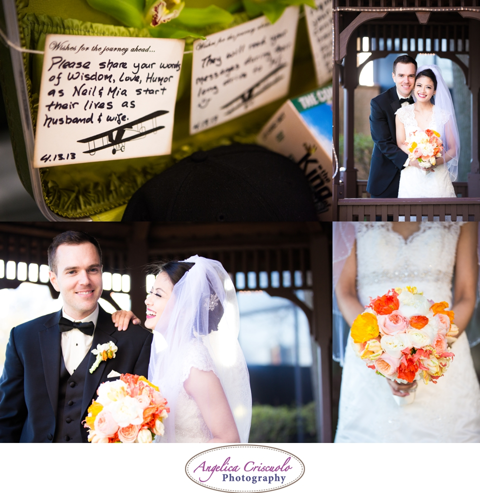 NYC Wedding Photography in Queens NY Ivie Joy Gonzales Flowers Bouquet