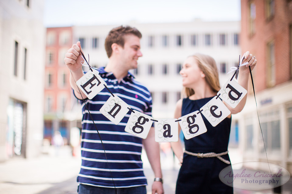 NYC Wedding Photographer South Street Seaport Engagement Photos Ideas Katrina and Nick