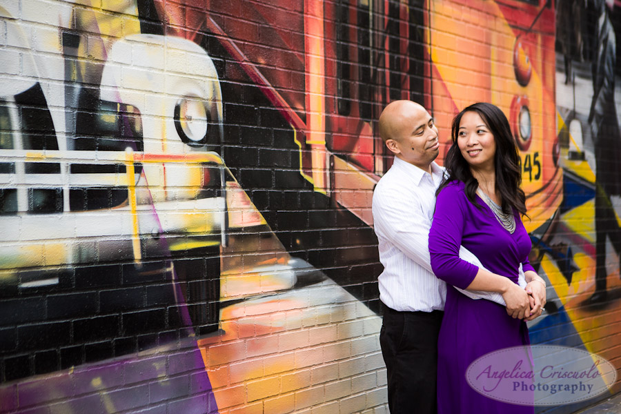 Graffiti Wall NYC_Engagement_Photography_TheHighLine_UniqueFunMural_SamanthaEugeneWEB-131