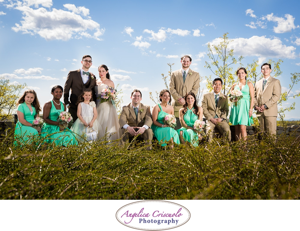 New York Wedding Photographer Ideas in Millbrook NY Green Wedding