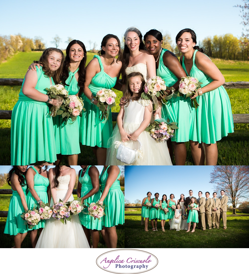 Green Wedding Dresses from Etsy