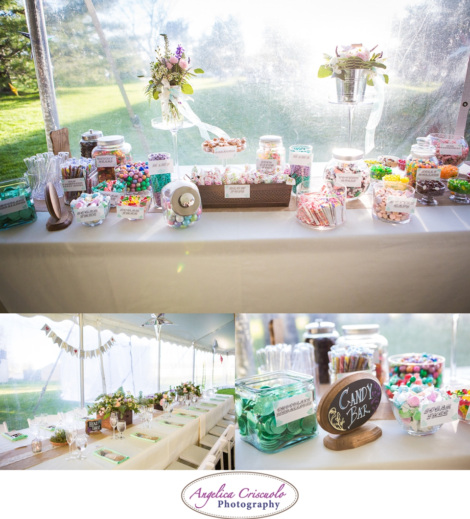 Candy Bar Wedding Photo ideas